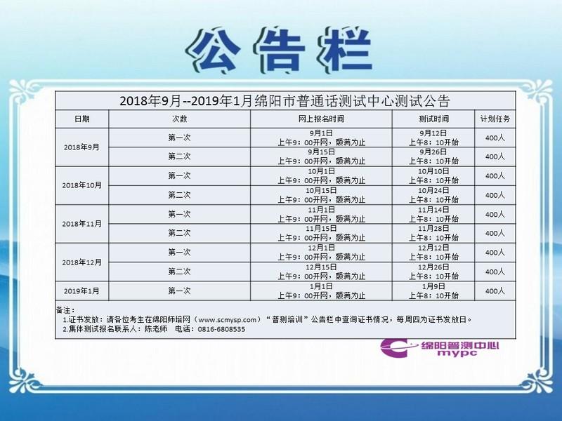 2018年9月--2019年1月绵阳市普通话测试中心测试公告.jpg